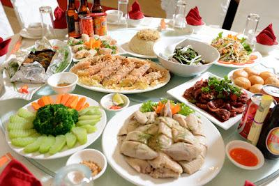 Thực đơn buffet sinh nhật đơn giản tại nhà