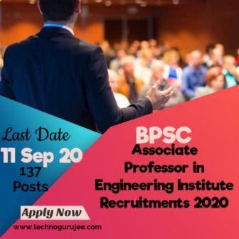 Bihar-BPSC-Associate-Professor-Civil-/-Electrical-Recruitment-2020-Apply-Online