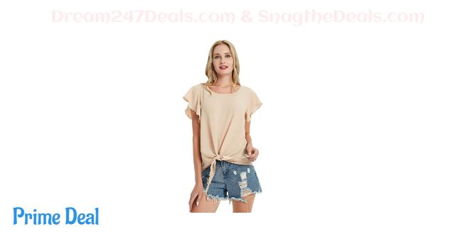 Basic Model Short Sleeve Tops  70% OFF