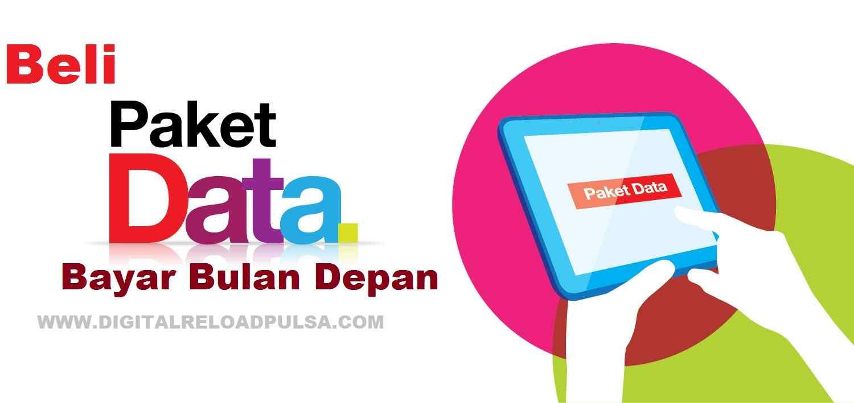Beli Paket Data Bayar Bulan Depan