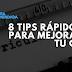 8 tips rápidos para mejorar tu CV