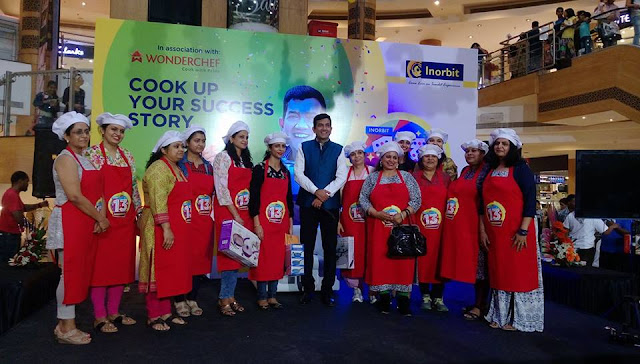 Wonderchef hosts LIVE cooking competition with InOrbits Malls