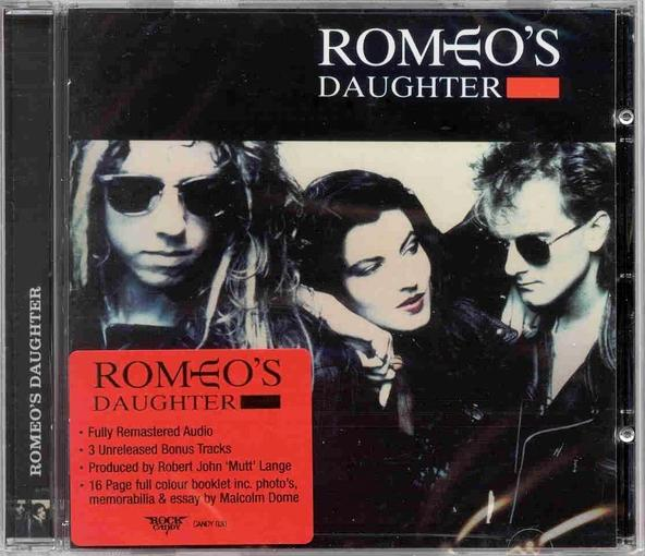 ROMEO'S DAUGHTER - Romeo's Daughter [Rock Candy Remastered +3] full