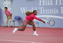 Hua Hin Tennis Schaukampf Serena Williams