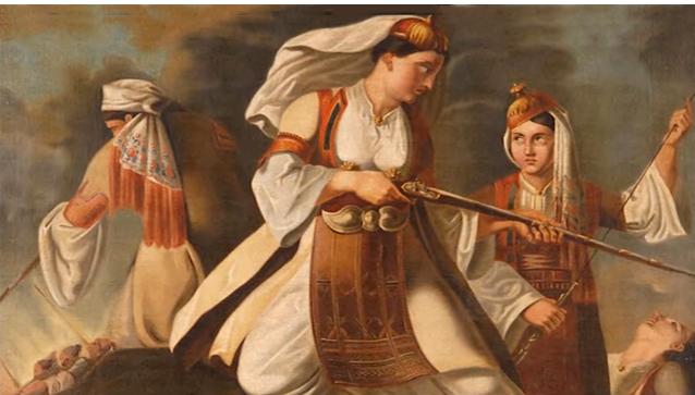 Σταυριάνα Σάββαινα: Η Μανιάτισσα που πολεμούσε σαν άντρας και πέθανε πάμφτωχη και ξεχασμένη στο Ναύπλιο