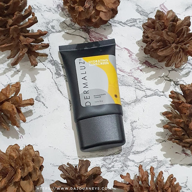 Review Dermaluz Hydrating Sunscreen