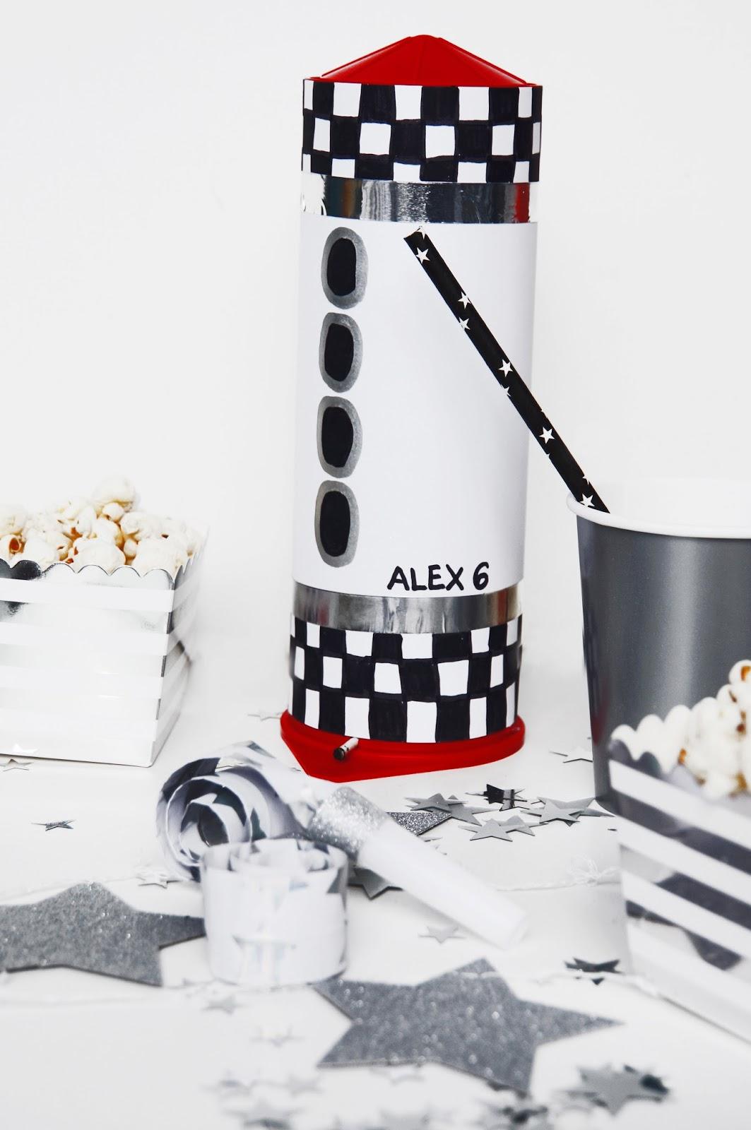Basteln Malen Kuchen Backen Weltall Party
