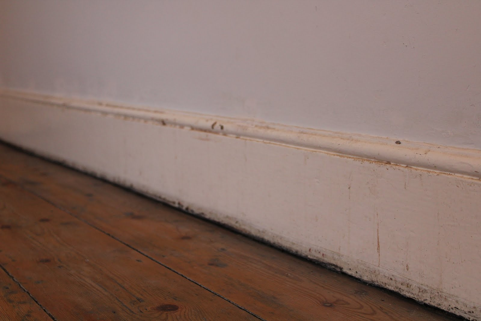 Old Victorian Skirting Boards