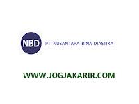 Loker Sleman Juni 2021 di PT. Nusantara Bina Diastika