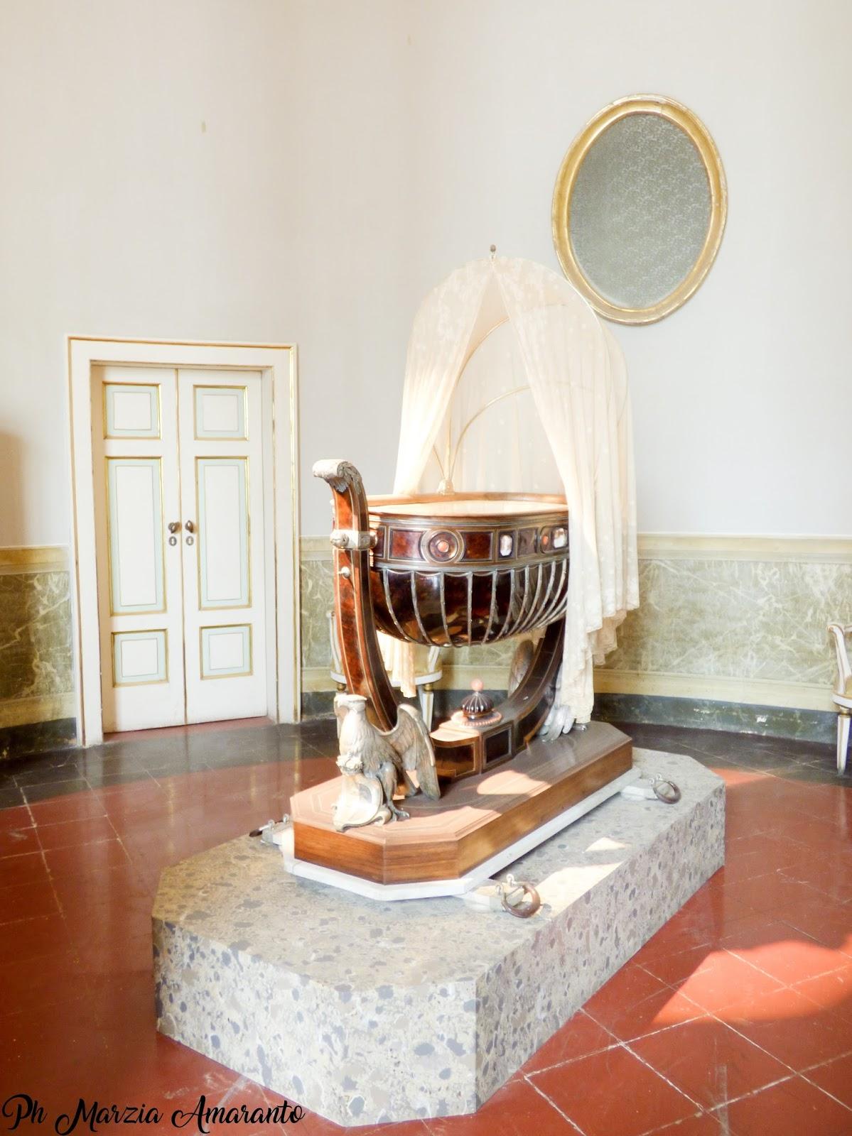 culla del Principe di Napoli, futuro Vittorio Emanuele III
