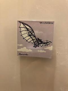 ダ・ヴィンチの飛行模型のマグネット