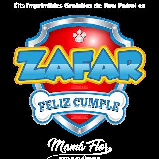 Logo de ZAFAR para Paw Patrol