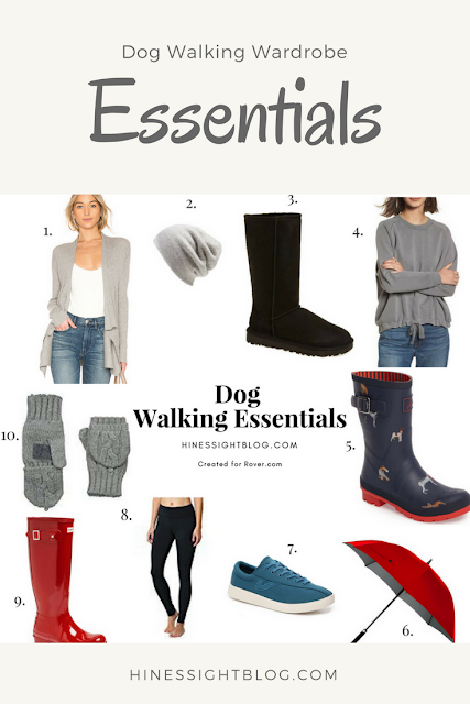 Winter Wardrobe Essentials for Walking Your Dog. #pets #dogs #fashion