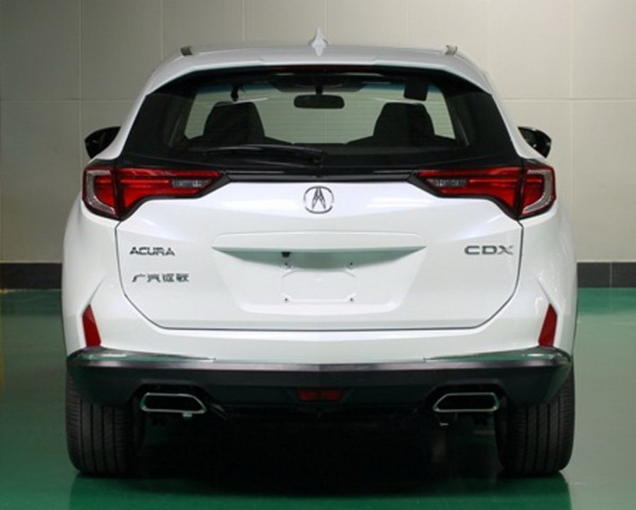 new acura cdx compact suv exposed in china rivals mercedes gla carscoops. Black Bedroom Furniture Sets. Home Design Ideas