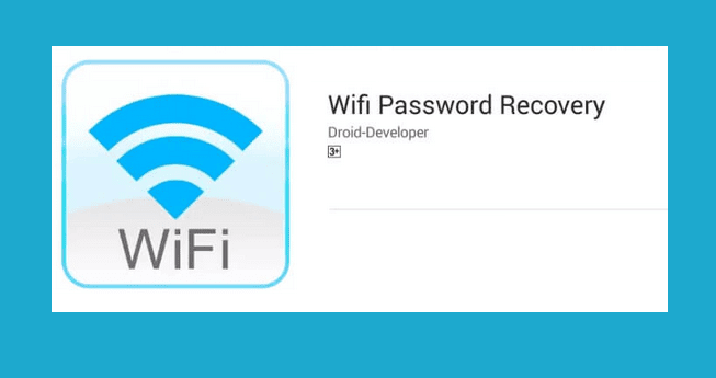 Aplikasi WIFI Password Recovery