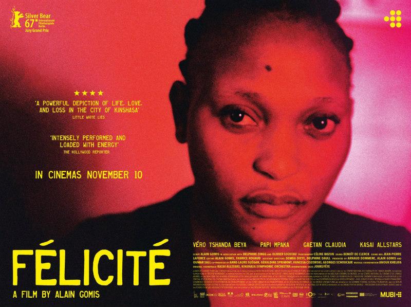 felicite film poster