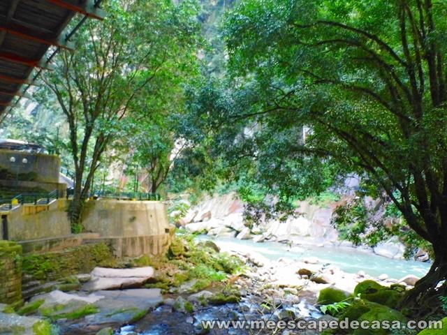 Curso de agua de la Catarata Velo de la Novia, Aguaytía