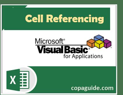 VBA सेल रेफेरेंसिंग क्या है?