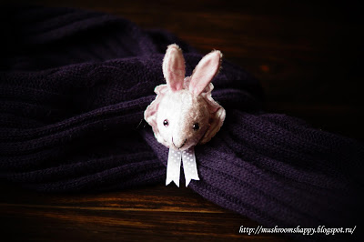 rabbit, white rabbit, pin, brooch, брошь, Кроль