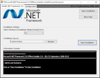 واجهة اداة: حل لمشكلة ميزة .net framwork 3.5