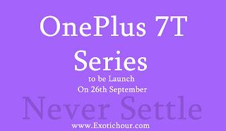 OnePlus 7T Pro, OnePlus 7T, OnePlus TV