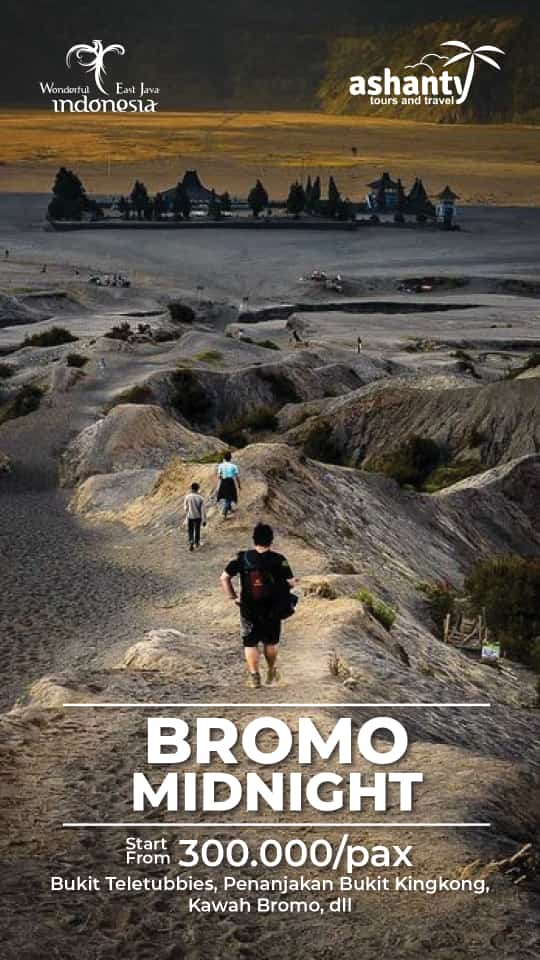 midnight tour bromo dari surabaya, surabaya bromo midnight tour