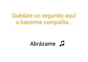 Camila Abrázame significado de la canción.