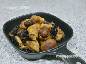 shuang mushroom dry chicken recipe