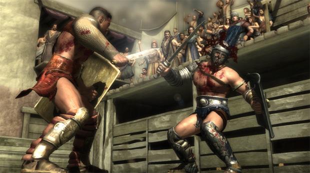 Lançamento do jogo Spartacus tem previsão para 2013