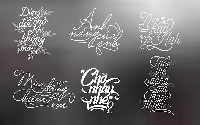 Bộ Typography đẹp cho những ai cần
