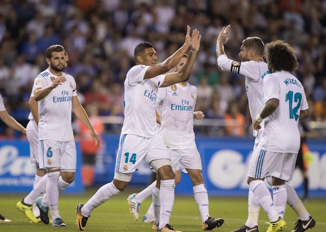 Deportivo la Coruña perdió 3-0 ante Real Madrid