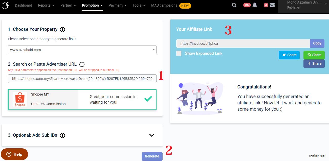 involve-generate-link-shopee