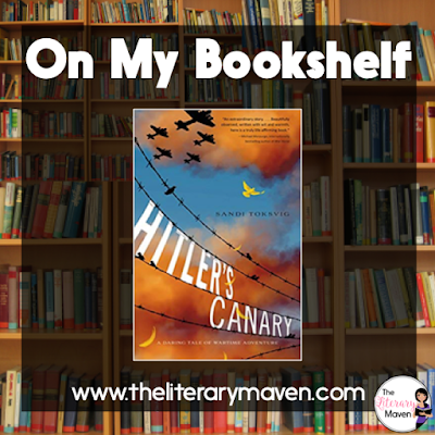 Hitler's Canary is based on a true story and describes one family's efforts to help with the resistance in Denmark. The novel was filled with colorful characters who illustrate a range of responses to WWII and the treatment of the Jews by Nazi Germany. Read on for more of my review and ideas for classroom application.