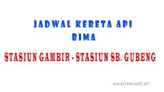 Jadwal Kedatangan dan Keberangkatan Kereta Api Bima Dari Stasiun Gambir Jakarta Menuju Stasiun Surabaya Gubeng Malang