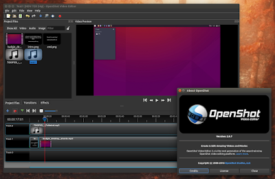OpenShot Video Editor 2.0.7 Ubuntu