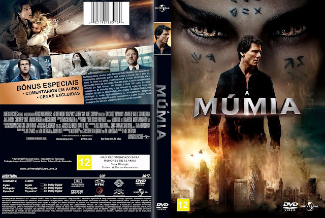 Capa DVD A Múmia [Exclusiva]