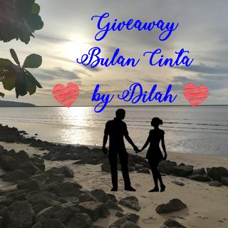 Giveaway Bulan Cinta by Dilah, Blogger Giveaway, 2017, Peserta, Pemenang, Lucky Draw, Random,