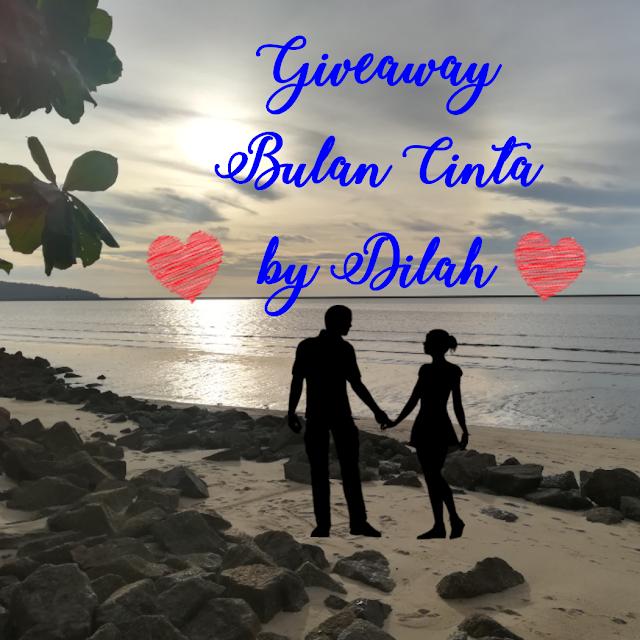 Giveaway Bulan Cinta by Dilah.