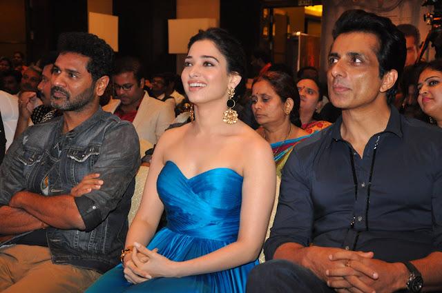 Prabhudeva,Sonusood, tamanna at abhinetri audio launch