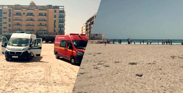 المهدية : وفاة شخصين اثنين غرقا بشاطئ رجيش وإنقاذ شخص ثالث