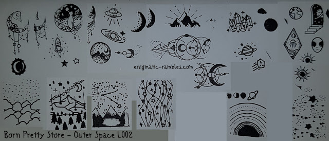 Review-Stamping-Plate-Born-Pretty-Store-BPS-Outer-Space-L002-#46458-Star-Moon-Stamp-Stencil