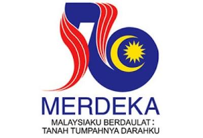 logo kemerdekaan ke 56 bagi tahun 2013