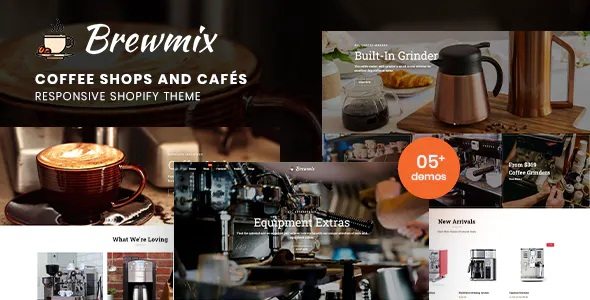 Best Coffee Shops and Cafés Responsive Shopify Theme