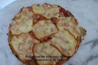 Vie quotidienne de Flaure: Paillasson de pommes de terre