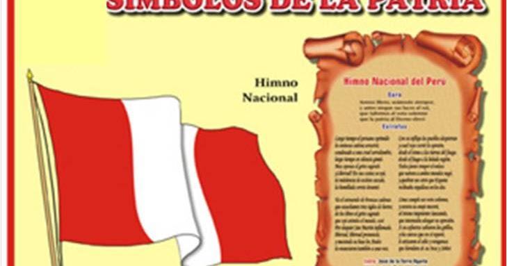 Tareas Del Colegio Símbolos Del Perú