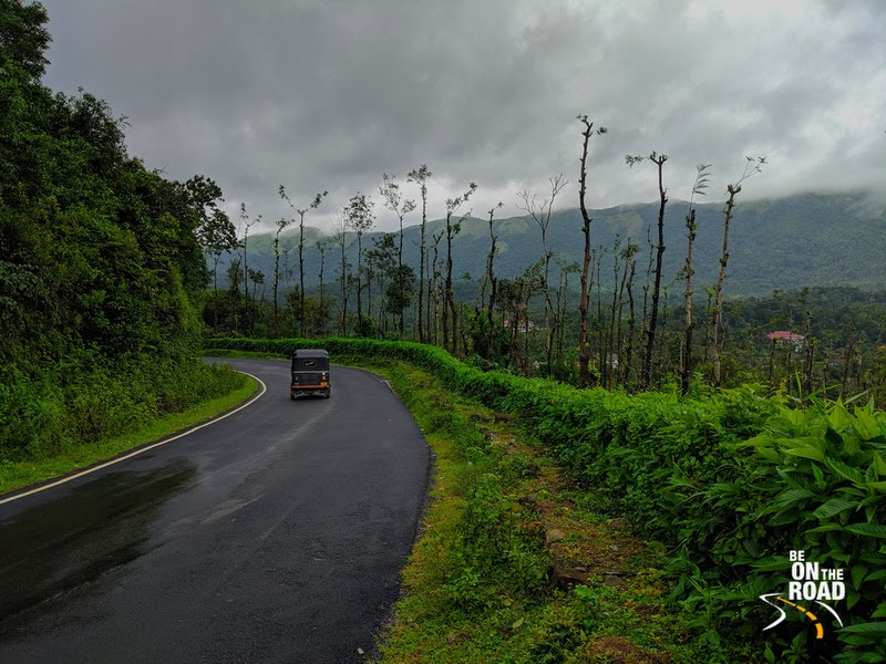 A monsoon moment on the Bhagamandala - Talacauvery road