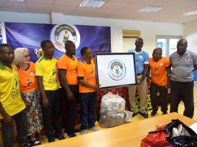 Ghana Amputee Football League Board Unveils Logo