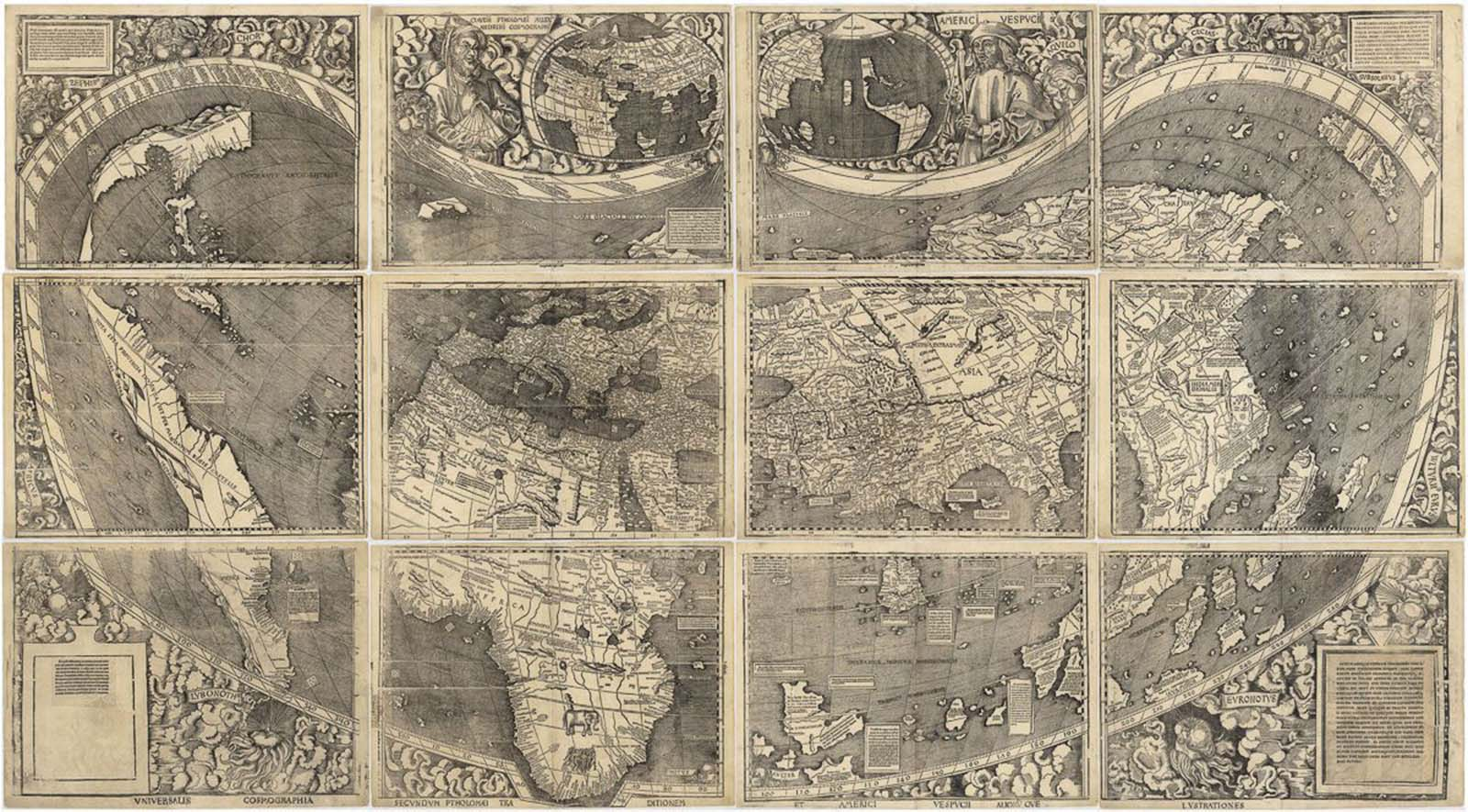 waldseemuller map america