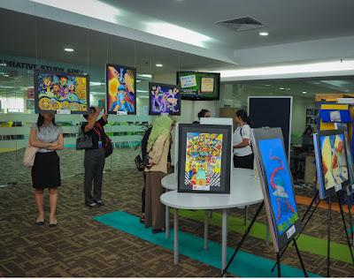 Art Competition International Medical University (IMU) campus