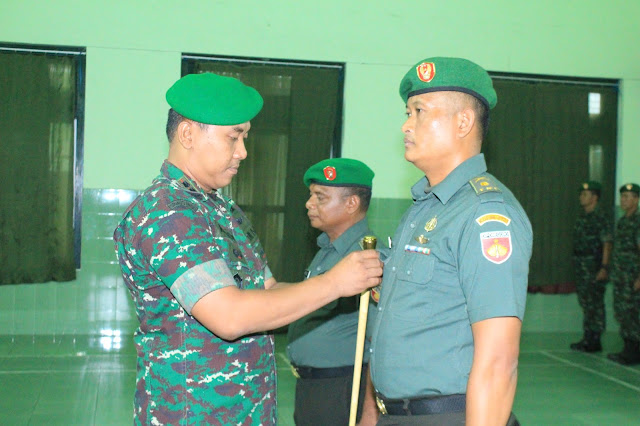 Mayor Inf Ustadi Rahmad Resmi Jabat Kasdim 0723/Klaten